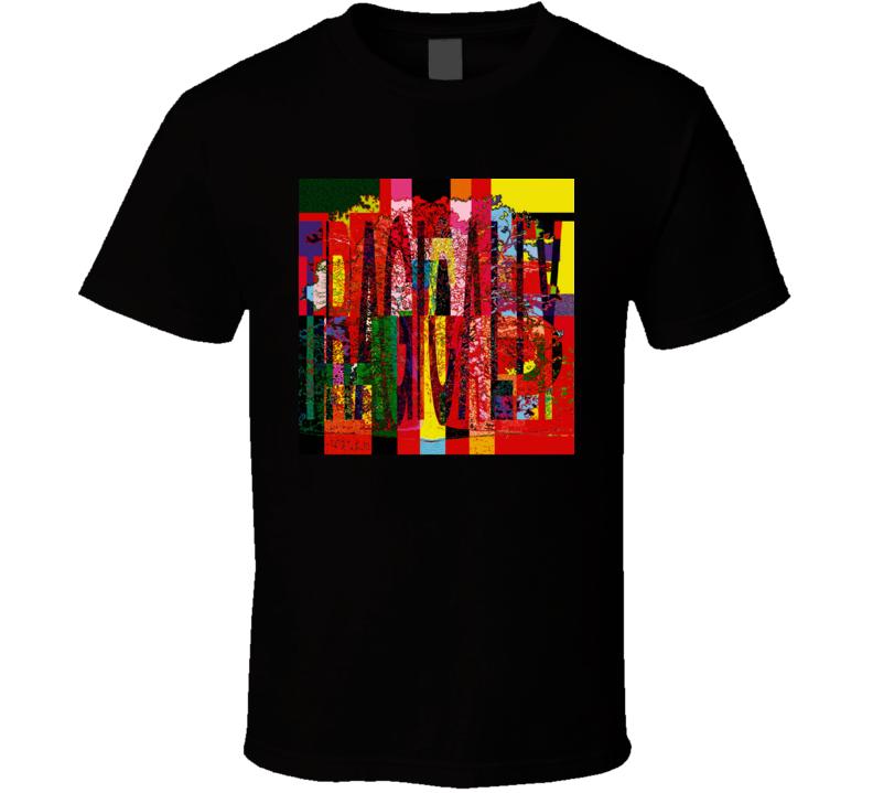 The Tragically Hip Music At Work Album T Shirt