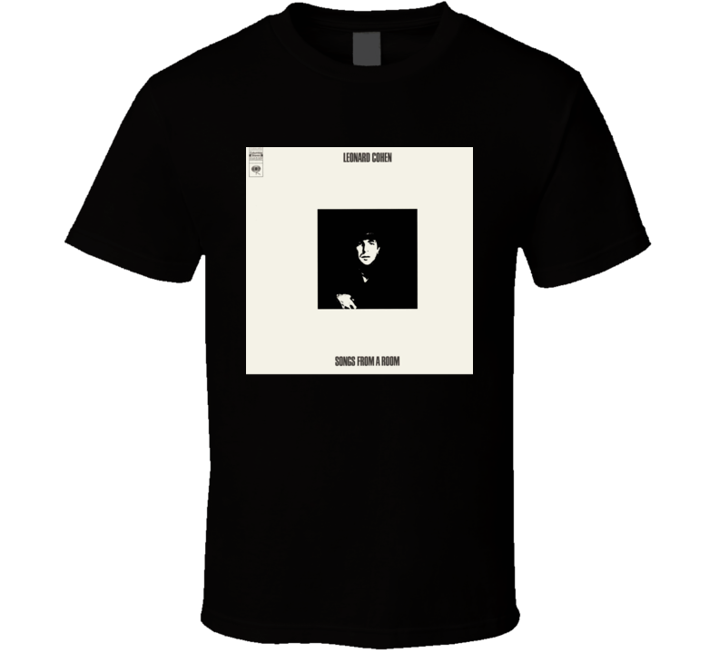 Leonard Cohen Songs From A Room T Shirt