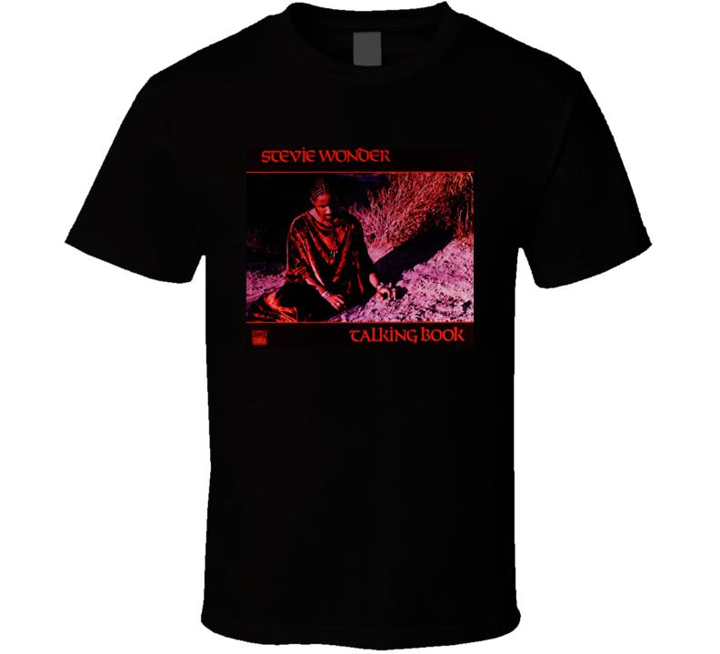 Stevie Wonder - Talking Book Album T Shirt