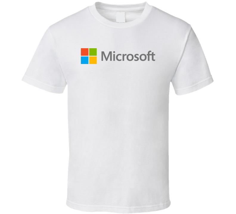 Microsoft Logo T Shirt