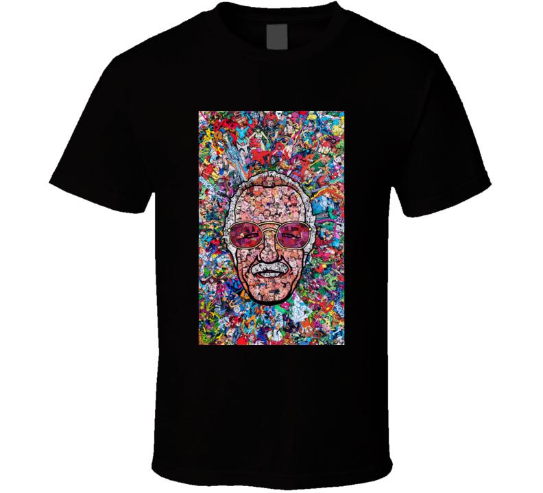 Stan Lee Marvel Heroes Excelsior Rip Dead Die Legend T Shirt