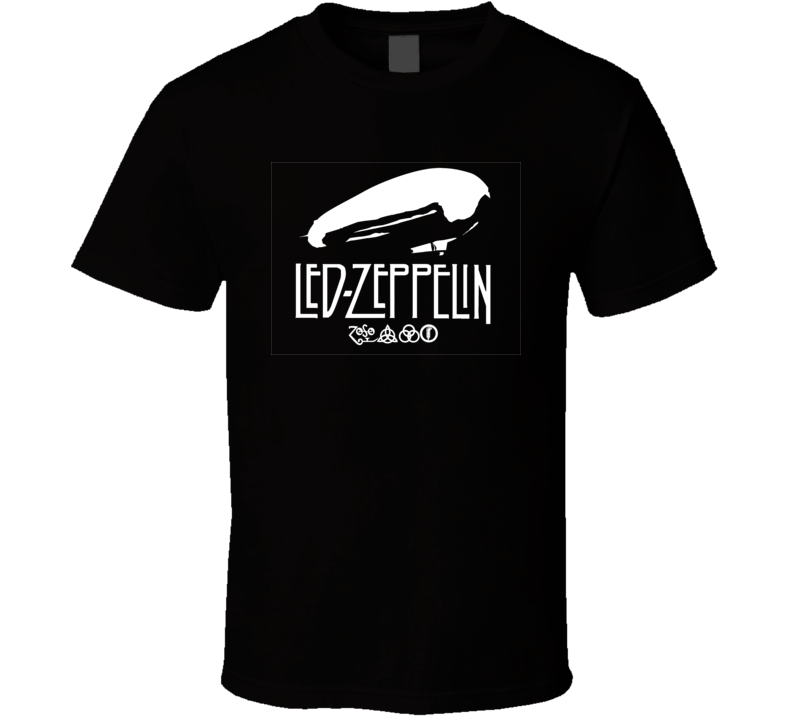 Led Zeppelin Logo T Shirt