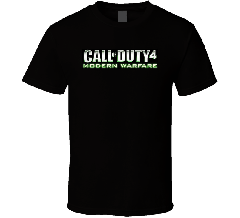 Call Of Duty 4 Modern Warfare T Shirt