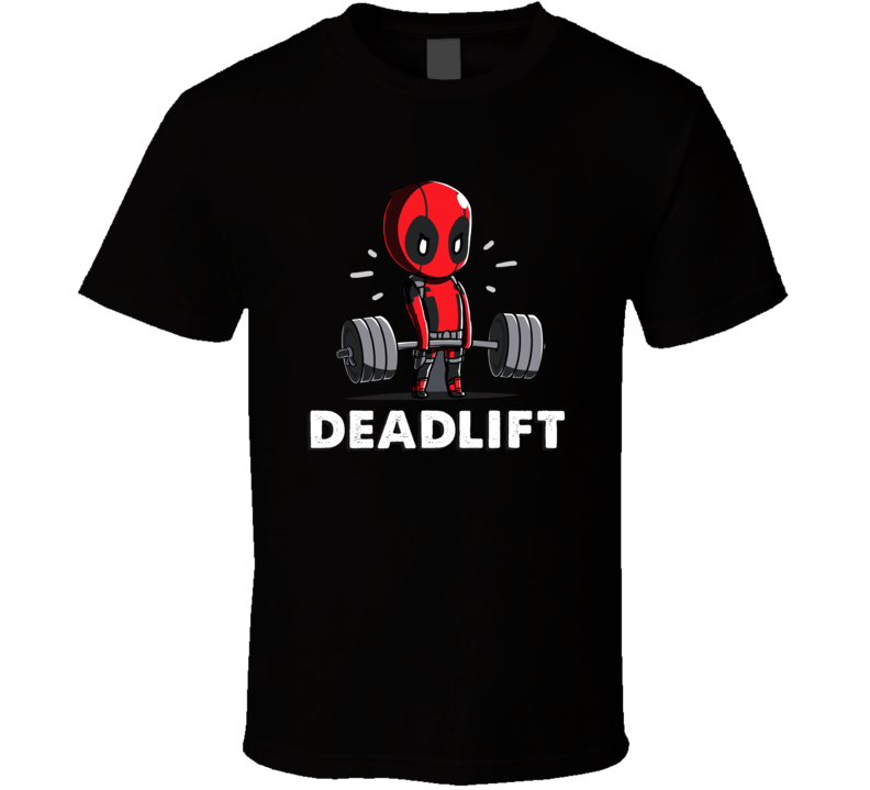 Deadlift Deadpool T Shirt