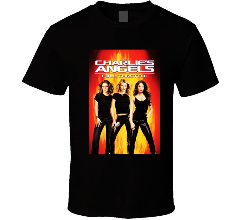 Charlie's Angels Full Throttle T Shirt