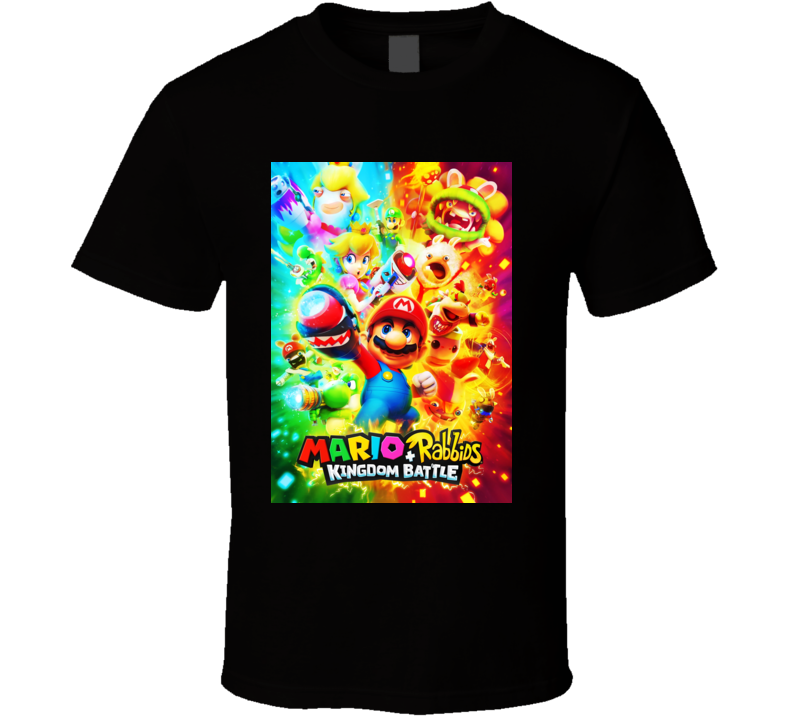 Mario Rabbids Kingdom Batle Copy T Shirt