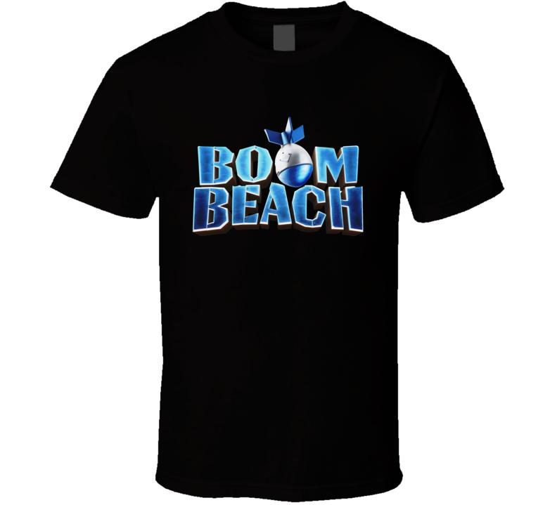 Boom Beach Logo T Shirt