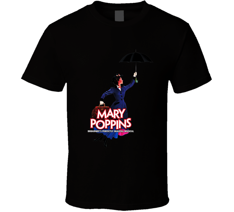 Mary Poppins Broadway Poster T Shirt