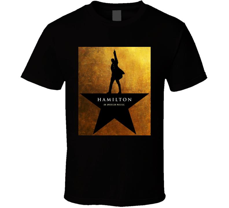 Hamilton Broadway Poster T Shirt