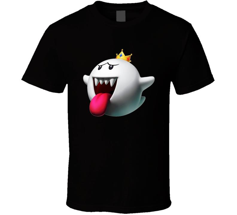 Super Mario King Boo Ghost T Shirt