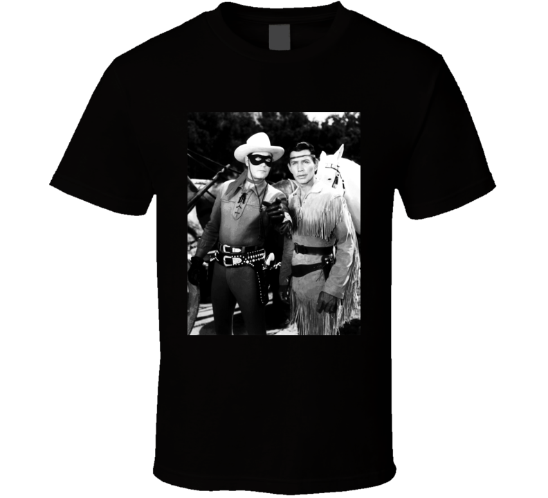 The Lone Ranger And Tonto T Shirt