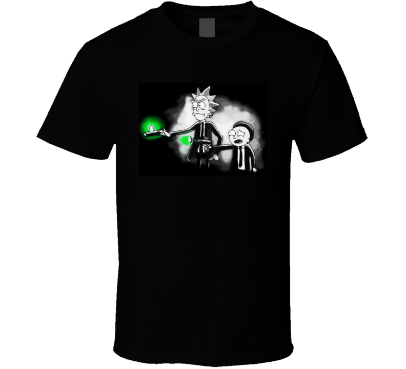 Rick And Morty Pulp Fiction T Shirt