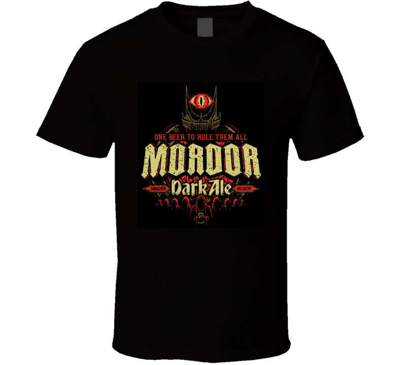 Mordor Ale Lord Of The Rings New Zealand T Shirt