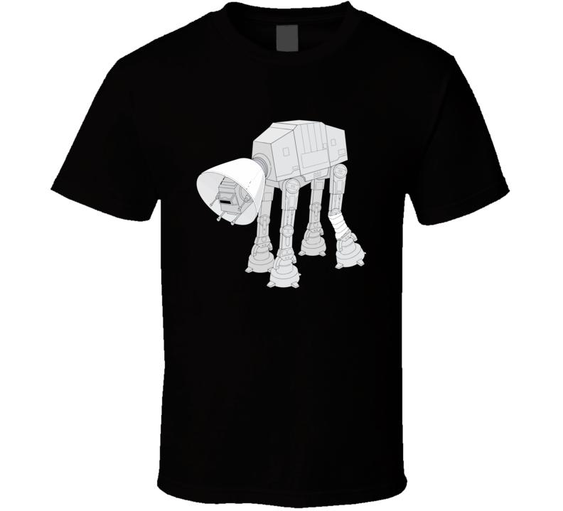 At At Star Wars Lego T Shirt