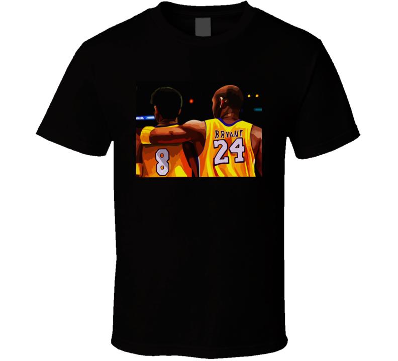 Kobe Bryant Rip Logo T Shirt