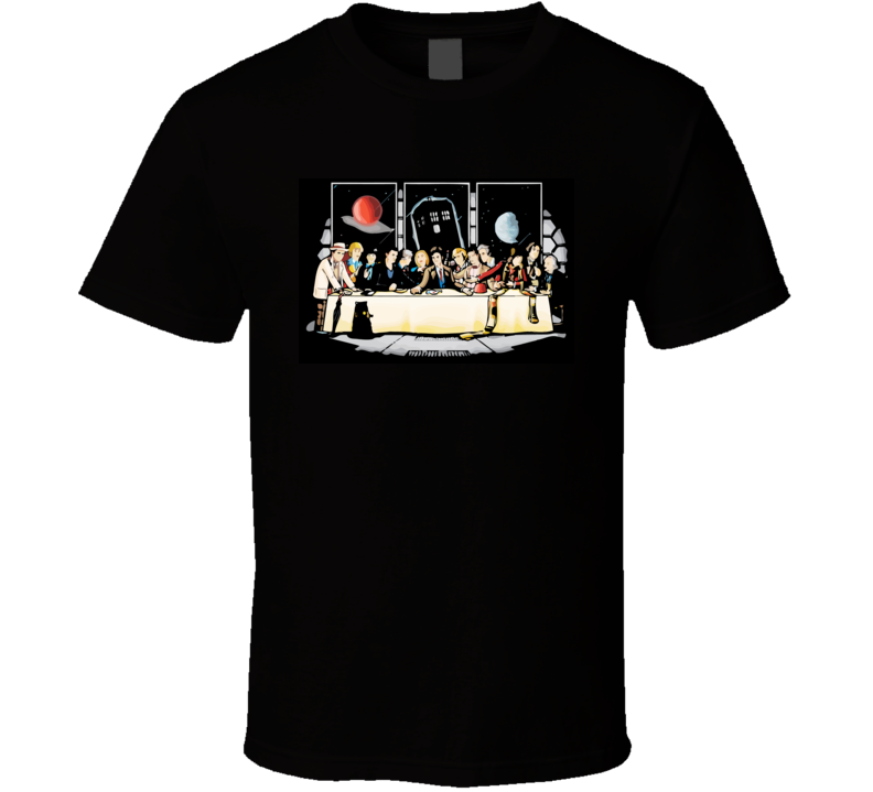 Dr Who Last Supper T Shirt