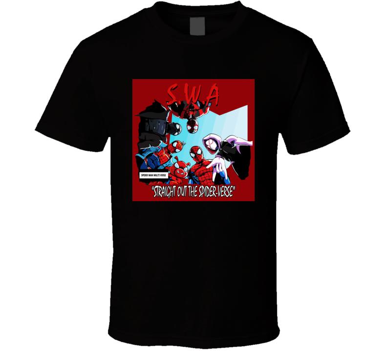Spider Man Multi Verse T Shirt
