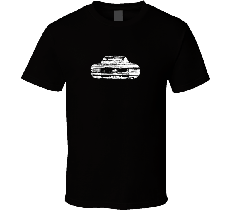1969 Charger Distressed Black T Shirt