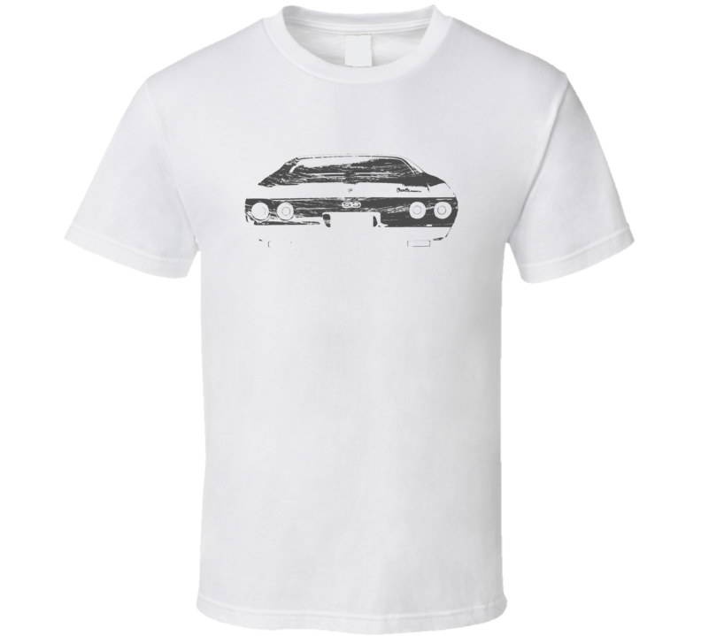 1972 Chevelle SS Rear View Distressed White T Shirt