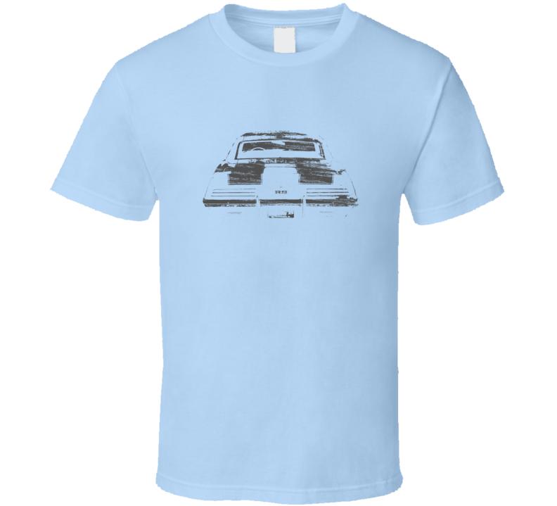 1969 Camaro SS/RS Back View Distressed Light Blue  Shirt