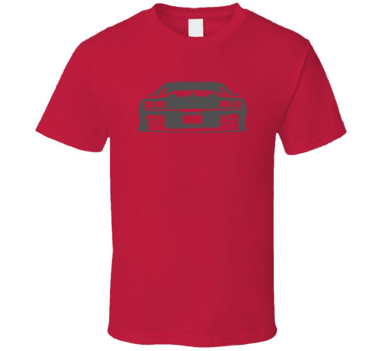 1991 1992 Camaro Bowtie Grill View Faded Dark Graphic T Shirt