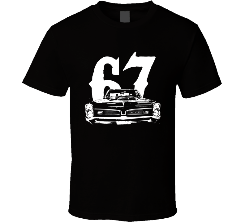1967 Pontiac GTO Grill Year Dark Color Shirt