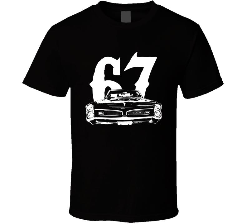 1967 Pontiac GTO Grill Year Dark Color Shirt