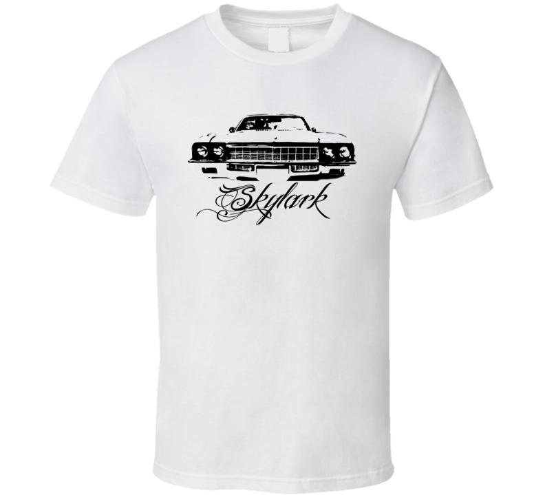 1972 Buick Skylark Grill Model Name Light Color Shirt