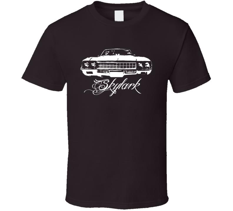 1972 Buick Skylark Grill Model Name Dark Color Shirt
