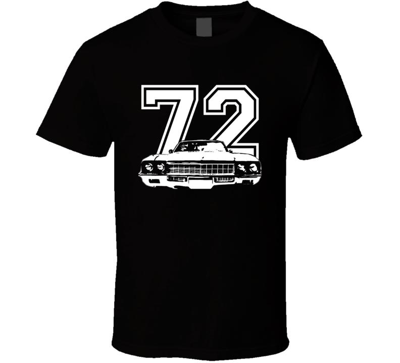 1972 Buick Skylark Grill Year Dark Color Shirt