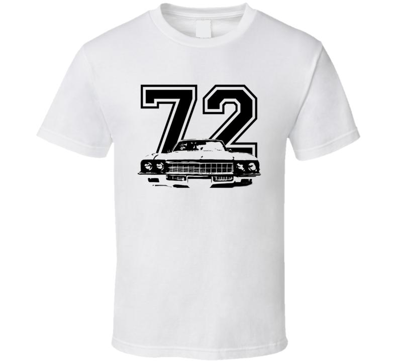 1972 Buick Skylark Grill Year Light Color Shirt