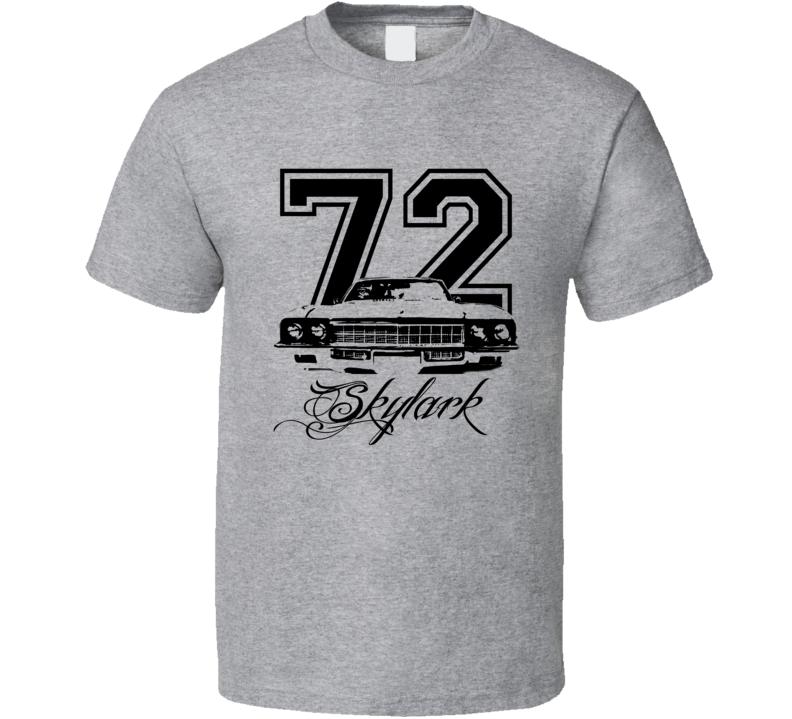 1972 Buick Skylark Grill Year Model Name Light Color Shirt