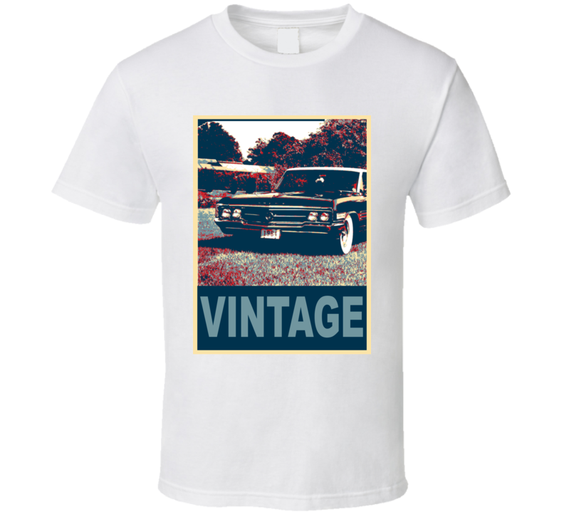 1965 Buick Wildcat Vintage Car Hope Style T Shirt