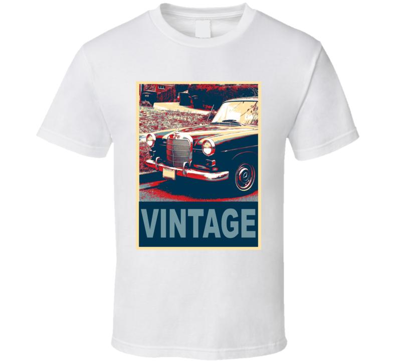 1965 Mercedes-Benz 300Sl Vintage Car Hope Style T Shirt