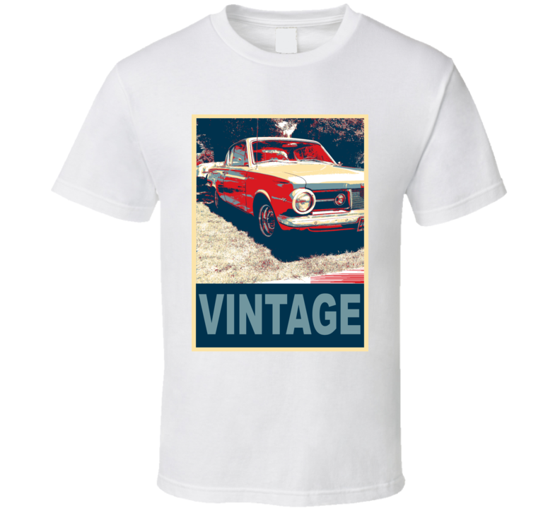 1965 Plymouth Barracuda Vintage Car Hope Style T Shirt