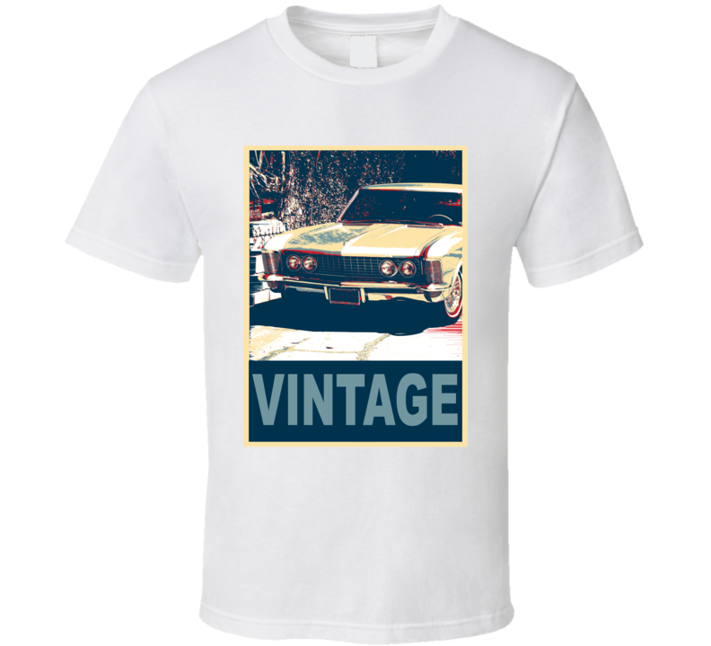 1965 Buick Riviera Vintage Car Hope Style T Shirt
