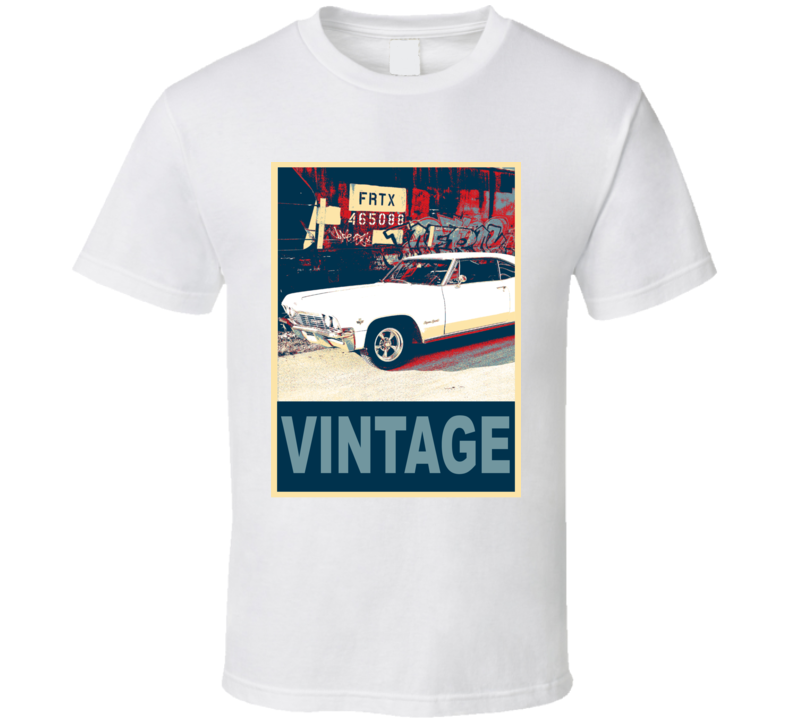 1965 Chevrolet Camaro Vintage Car Hope Style T Shirt