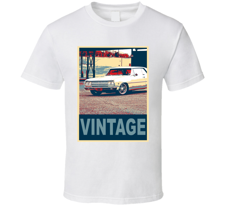 1965 Chevy Chevelle Vintage Car Hope Style T Shirt