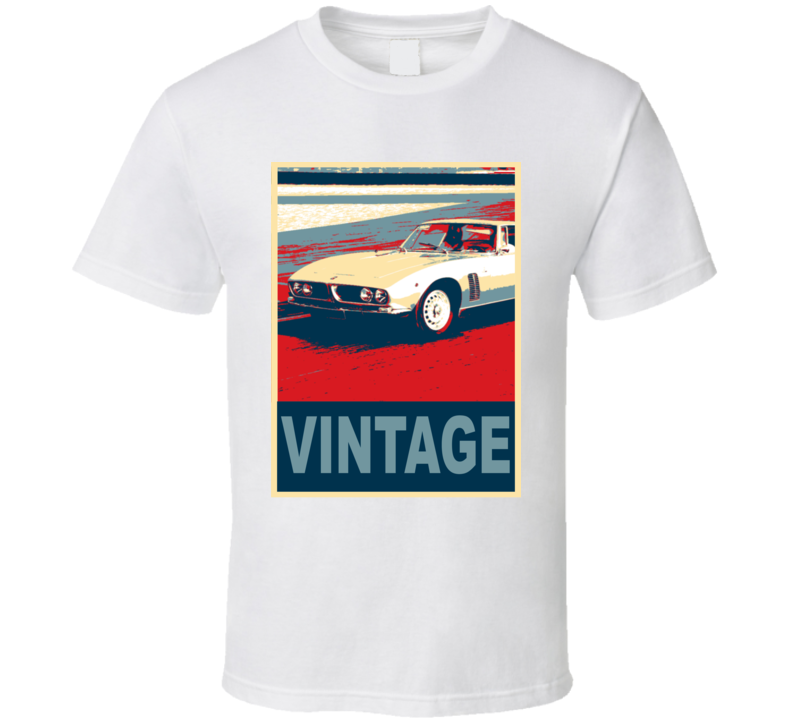 1965 Iso Grifo Vintage Car Hope Style T Shirt