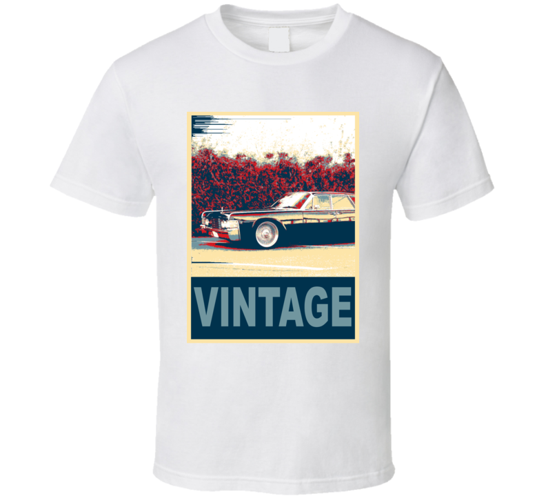 1965 Lincoln Continental Vintage Car Hope Style T Shirt