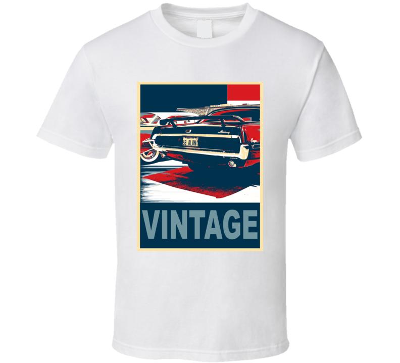 1965 Mercury Cougar Vintage Car Hope Style T Shirt