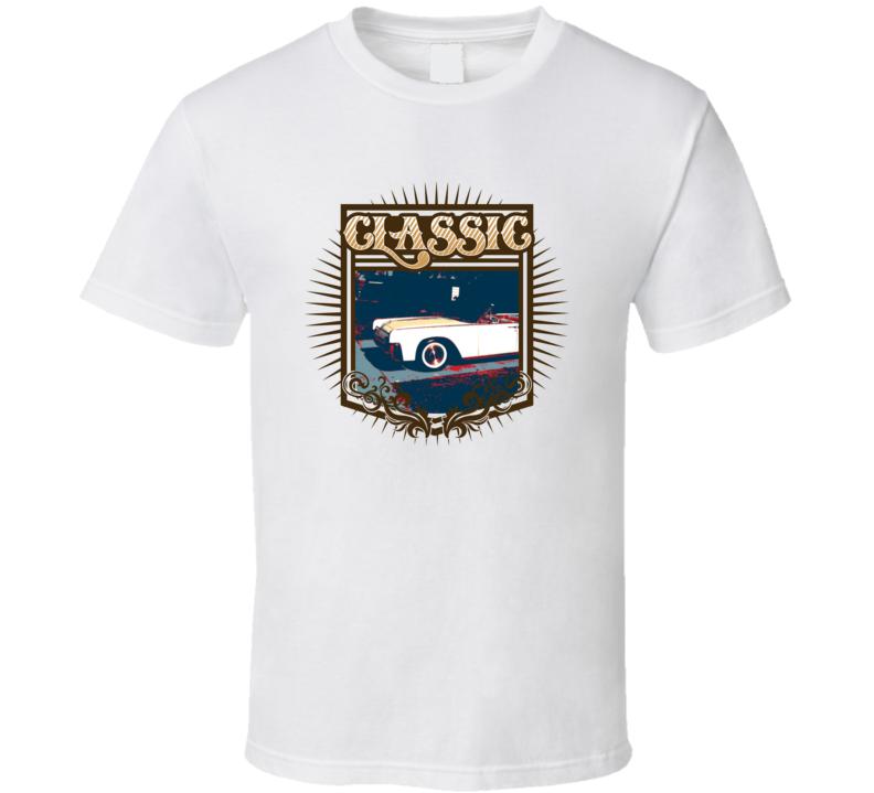 1961 Lincoln Continental Classic Car T Shirt