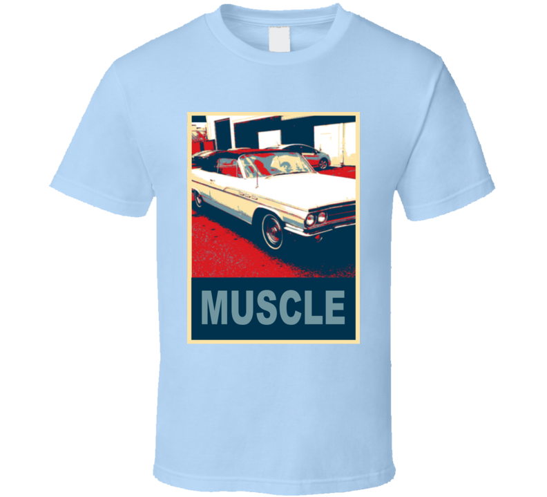 1963 Buick Wildcat Hope Style Muscle Car T Shirt
