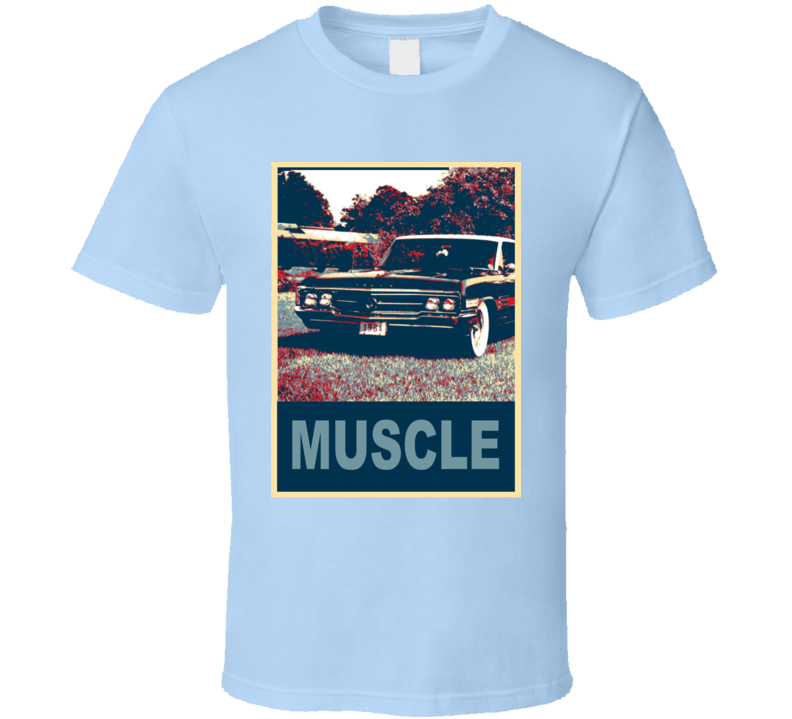 1964 Buick Wildcat Hope Style Muscle Car T Shirt