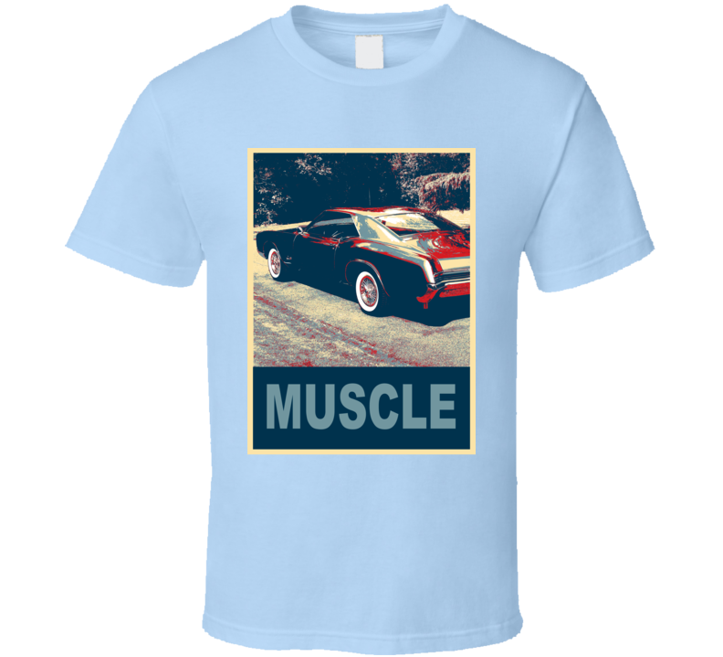 1966 Buick Riviera Hope Style Muscle Car T Shirt