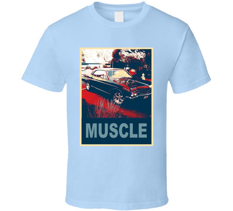 1966 Buick Skylark Hope Style Muscle Car T Shirt