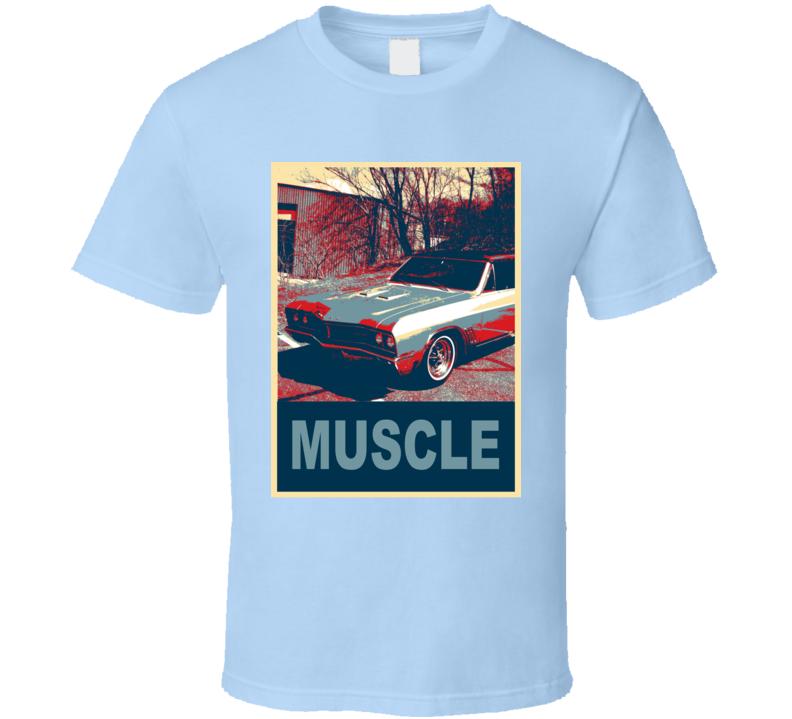 1967 Buick Skylark Hope Style Muscle Car T Shirt