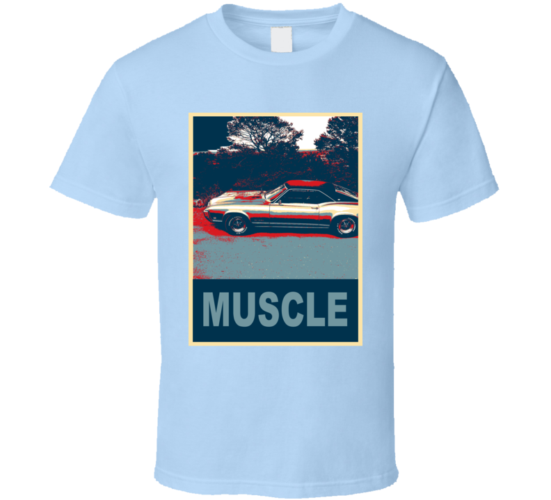 1969 Buick Riviera Hope Style Muscle Car T Shirt