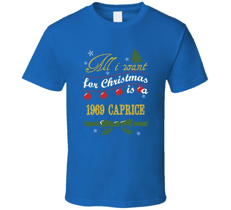 Christmas 1969  Caprice Funny Holiday T Shirt
