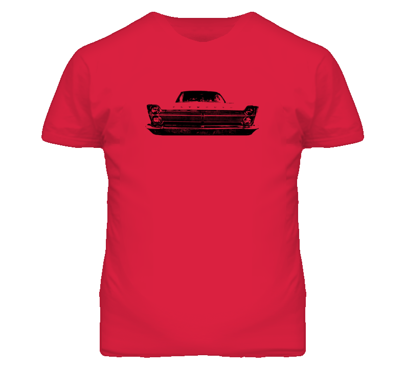 1965 Plymouth Fury Grill View Faded Look Light T Shirt